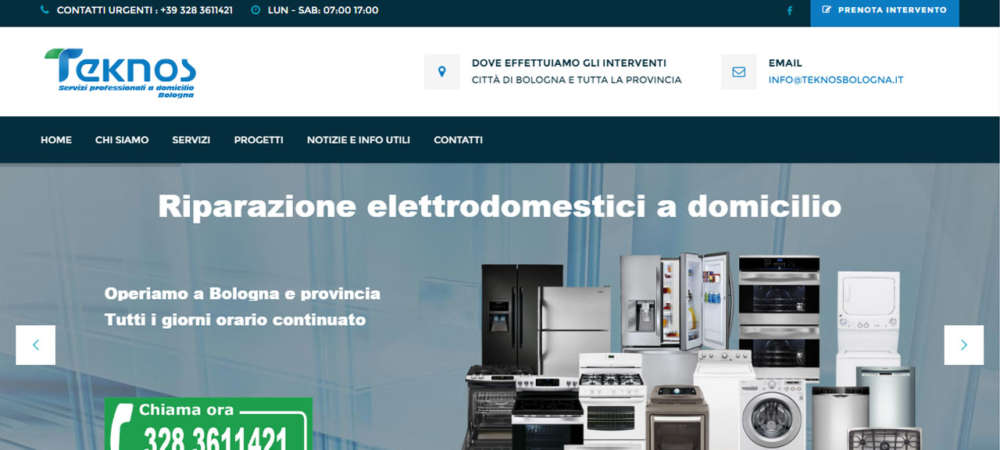 Home Page Teknos Bologna
