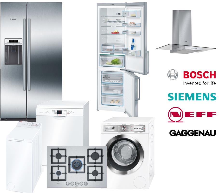 Assistenza e riparazione Elettrodomestici Bosch - Siemens - Gaggenau - Neff